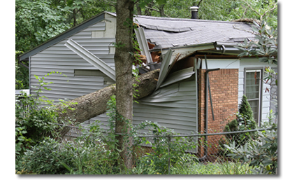 storm damage repair